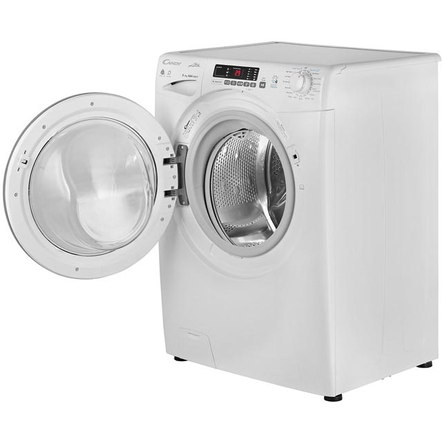 Candy Grand'O Vita GVSW485DC Washer Dryer - White - GVSW485DC_WH - 3
