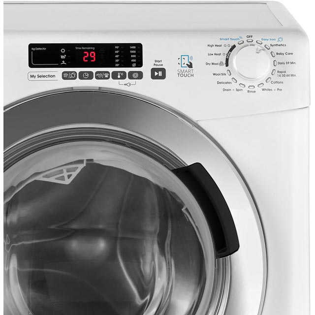 Candy Grand'O Vita GVSW485DC 8Kg / 5Kg Washer Dryer - White - GVSW485DC_WH - 5