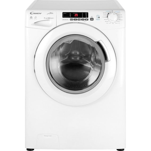 Candy Grand'O Vita GVSW496D 9Kg / 6Kg Washer Dryer with 1400 rpm - White - A Rated - GVSW496D_WH - 1