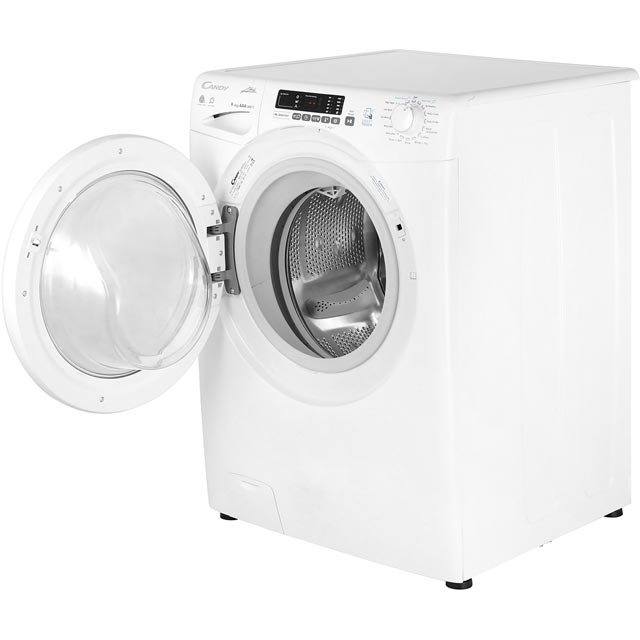 Candy Grand'O Vita GVSW496D 9Kg / 6Kg Washer Dryer - White - GVSW496D_WH - 2