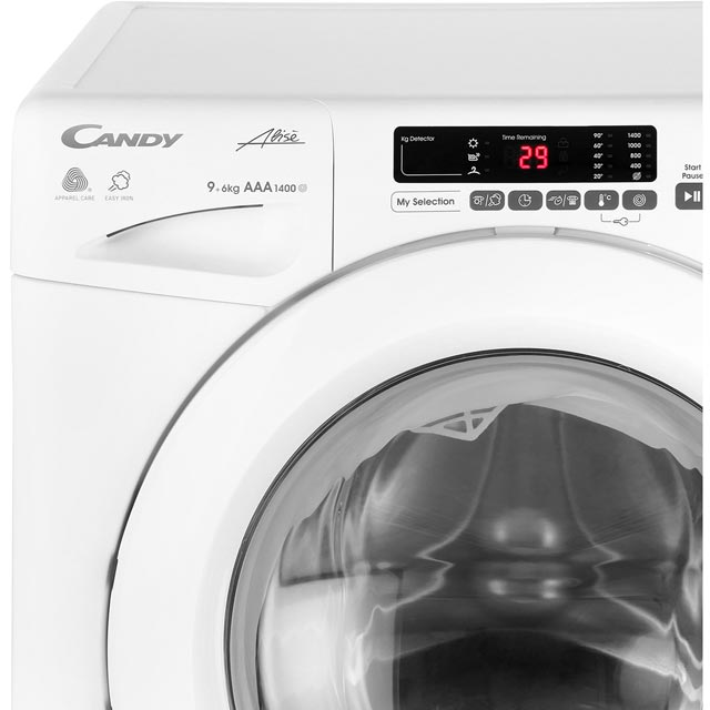 Candy Grand'O Vita GVSW496D 9Kg / 6Kg Washer Dryer - White - GVSW496D_WH - 3