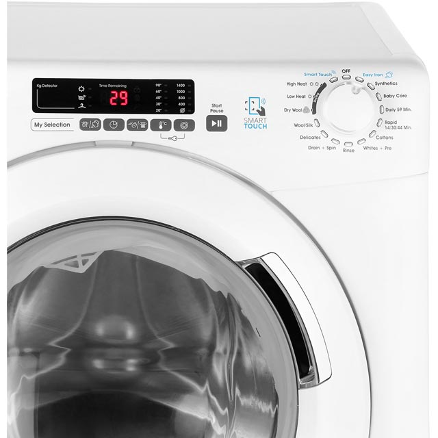 Candy Grand'O Vita GVSW496D 9Kg / 6Kg Washer Dryer - White - GVSW496D_WH - 4