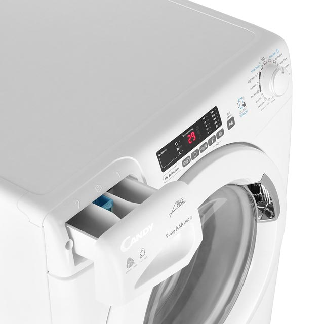 Candy Grand'O Vita GVSW496D 9Kg / 6Kg Washer Dryer - White - GVSW496D_WH - 5