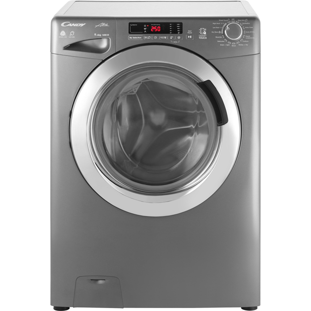 Candy Grand'O Vita GVSW496DCR 9Kg / 6Kg Washer Dryer with 1400 rpm - Graphite - A Rated - GVSW496DCR_GH - 1
