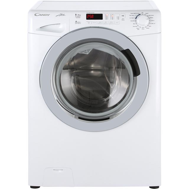 Candy Alise GVW485DC Free Standing Washer Dryer in White