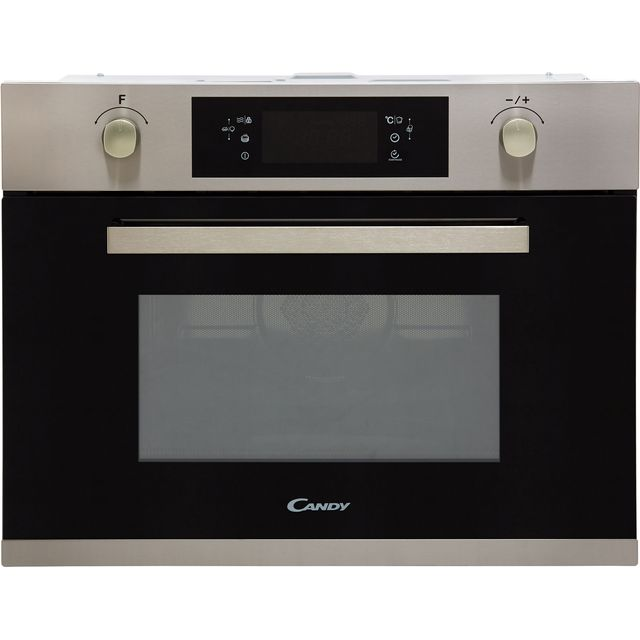 Candy MIC440VTX Built In Combination Microwave Oven - Black Glass / Steel