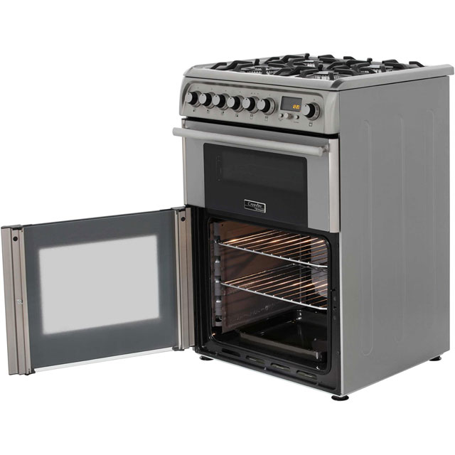 Cannon by Hotpoint CH60DPXFS Dual Fuel Cooker - Stainless Steel - CH60DPXFS_SS - 4