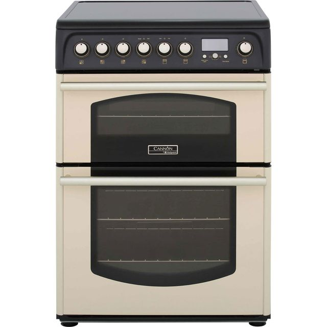 Cannon by Hotpoint Traditional CH60ETCS Electric Cooker - Cream - CH60ETCS_CR - 1