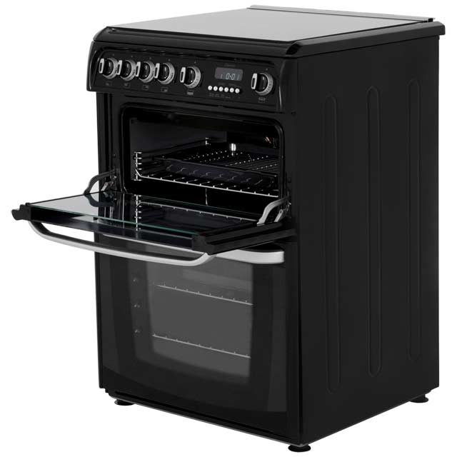 Cannon by Hotpoint CH60GCIK Gas Cooker - Black - CH60GCIK_BK - 3