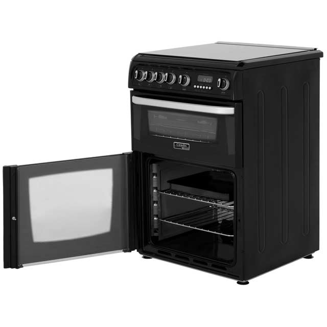 Cannon by Hotpoint CH60GCIK Gas Cooker - Black - CH60GCIK_BK - 4