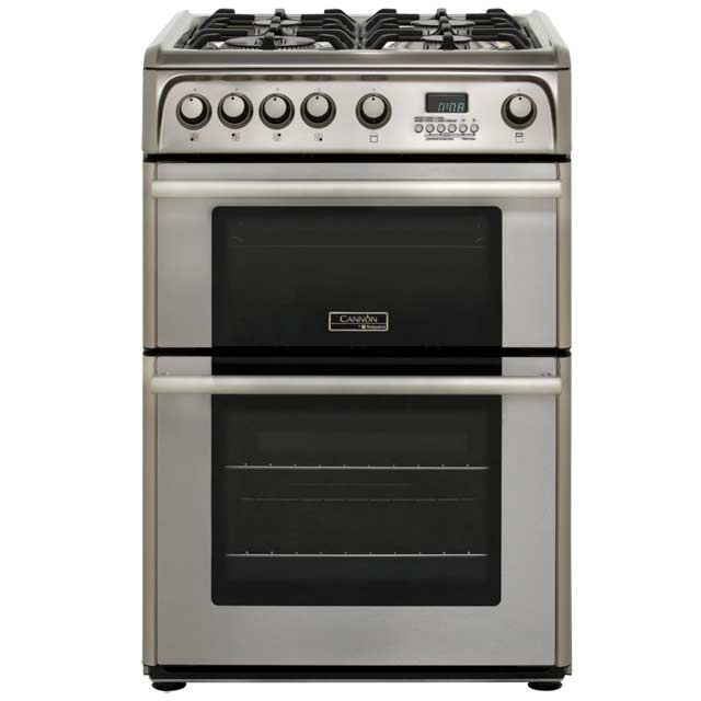 Cannon by Hotpoint 60cm Gas Cooker - Stainless Steel - A+/A Rated