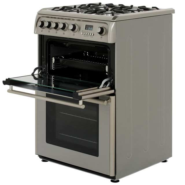 Cannon by Hotpoint CH60GPXF Gas Cooker - Stainless Steel - CH60GPXF_SS - 3