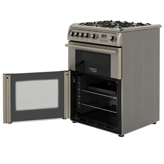 Cannon by Hotpoint CH60GPXF Gas Cooker - Stainless Steel - CH60GPXF_SS - 4