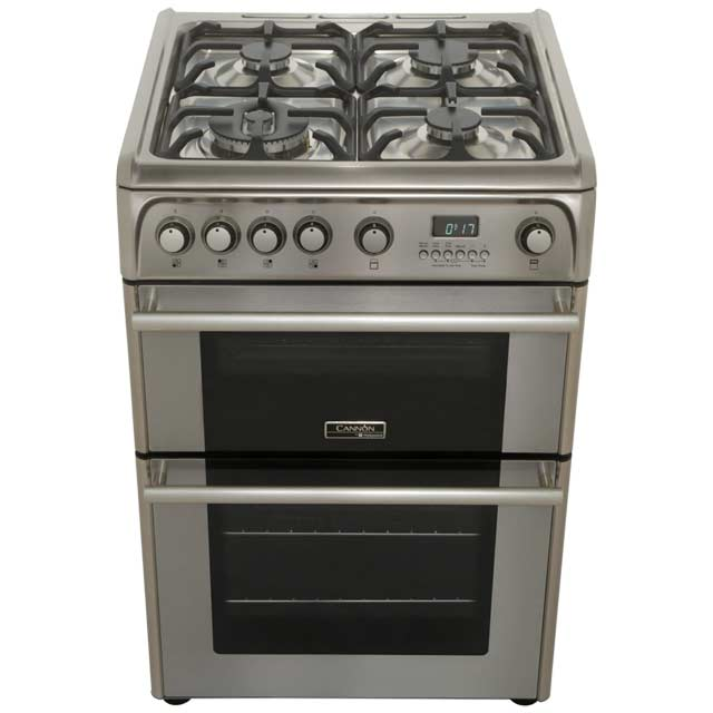 Cannon by Hotpoint CH60GPXF Gas Cooker - Stainless Steel - CH60GPXF_SS - 5