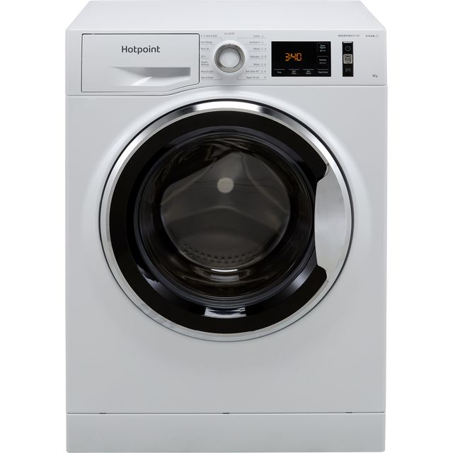 Hotpoint ActiveCare NM11945WCAUKN 9Kg Washing Machine with 1400 rpm - White - B Rated