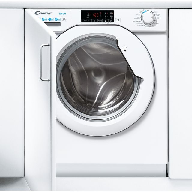 Candy CBD475D1E/1 Integrated 7Kg / 5Kg Washer Dryer with 1400 rpm - White - A Rated