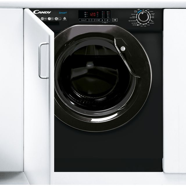 Candy CBD485D1BBE Integrated 8Kg / 5Kg Washer Dryer with 1400 rpm - Black - A Rated