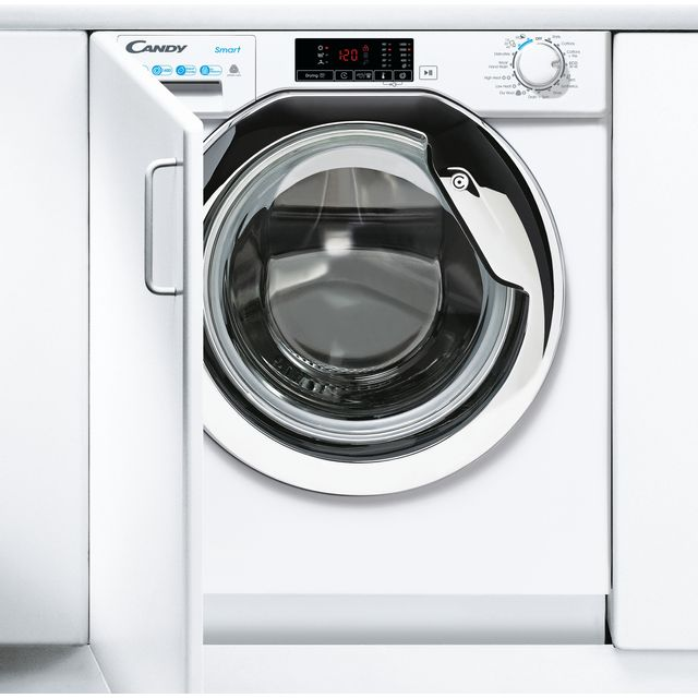 Candy CBD485D1CE/1 Integrated 8Kg / 5Kg Washer Dryer with 1400 rpm - White - A Rated