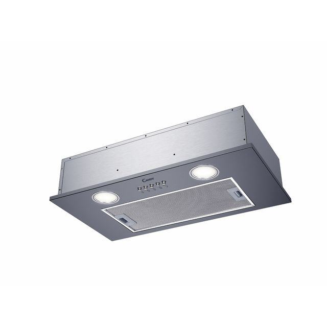 Candy CBG625/1X 50 cm Canopy Cooker Hood - Stainless Steel - C Rated - CBG625/1X_SS - 1