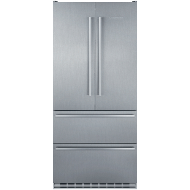 Liebherr CBNes6256 American Fridge Freezer - Stainless Steel - A++ Rated Best Price, Cheapest Prices