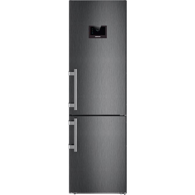 Liebherr 60/40 Frost Free Fridge Freezer - Black - A+++ Rated