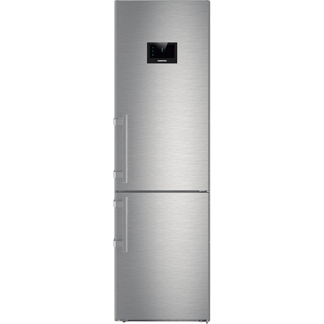 Liebherr CBNPes4858 60/40 Frost Free Fridge Freezer - Stainless Steel - A+++ Rated - CBNPes4858_SS - 1