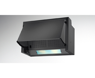 Candy CBP612/1N 60 cm Integrated Cooker Hood - Black