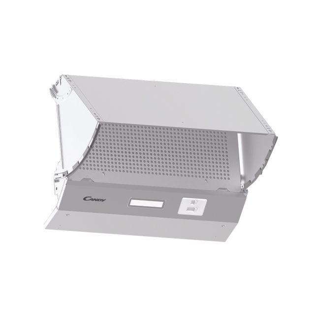 Candy CBP612/4W 60 cm Integrated Cooker Hood - Stainless Steel - C Rated