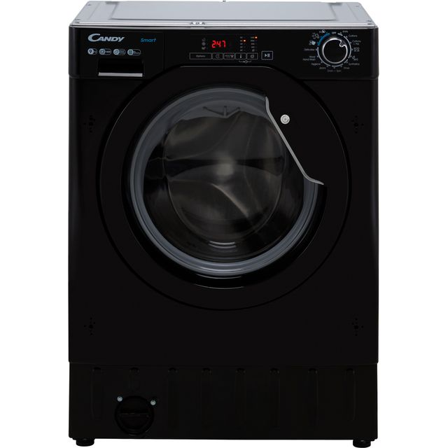 Candy CBW49D1BBE Integrated 9Kg Washing Machine with 1400 rpm - Black - D Rated