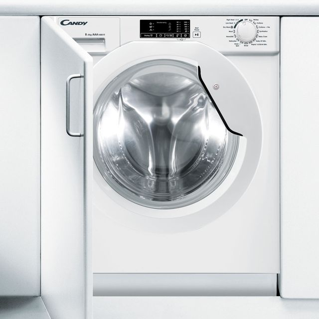 Candy CBWD8514D Integrated Washer Dryer in White
