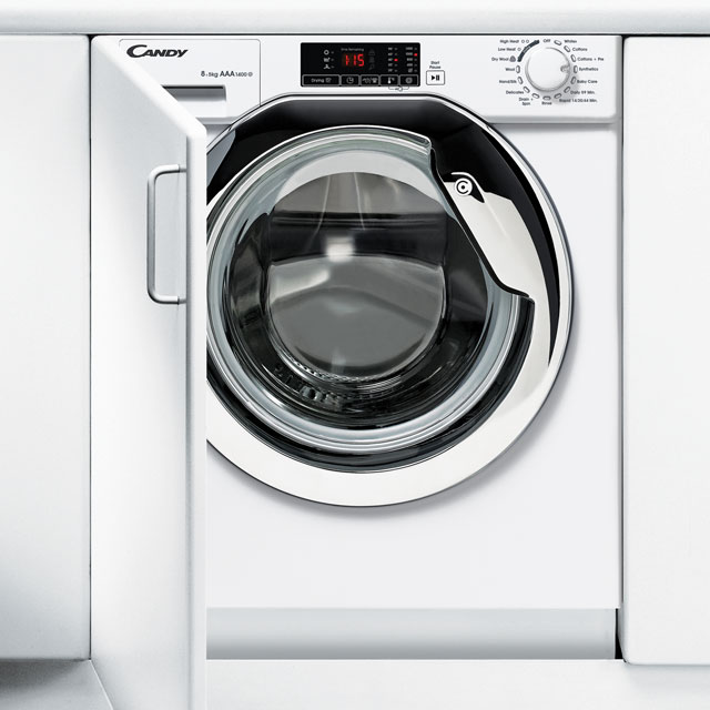 Candy CBWM814DC Integrated 8Kg Washing Machine with 1400 rpm - A+++ Rated
