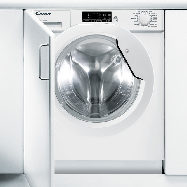Candy CBWM815D Integrated 8Kg Washing Machine with 1500 rpm - A+++ Rated - CBWM815D_WH - 1