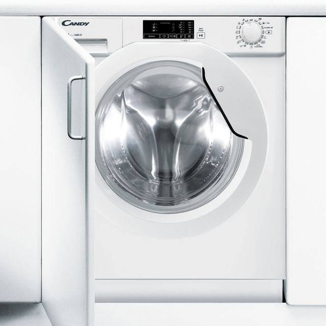 Candy CBWM914D Integrated 9Kg Washing Machine with 1400 rpm - White - A+++ Rated