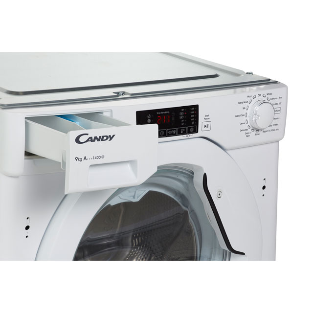 Candy Cbwm914d Integrated 9kg Washing Machine Review