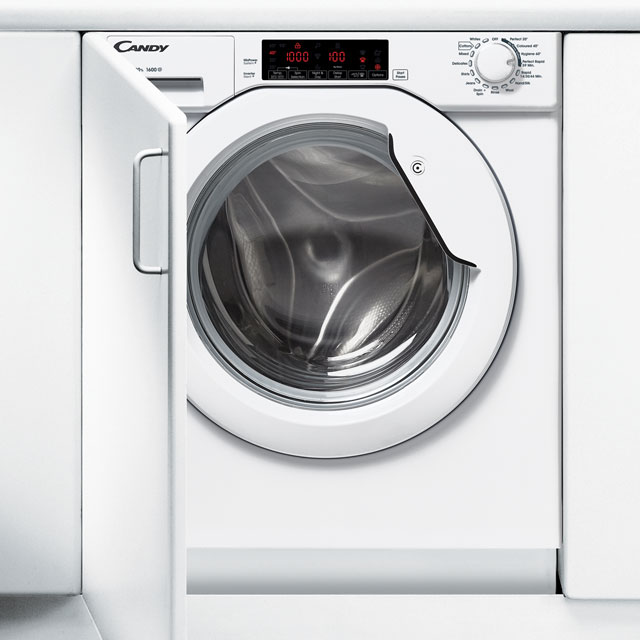 Candy CBWM916TWH Integrated 9Kg Washing Machine with 1600 rpm - A+++ Rated