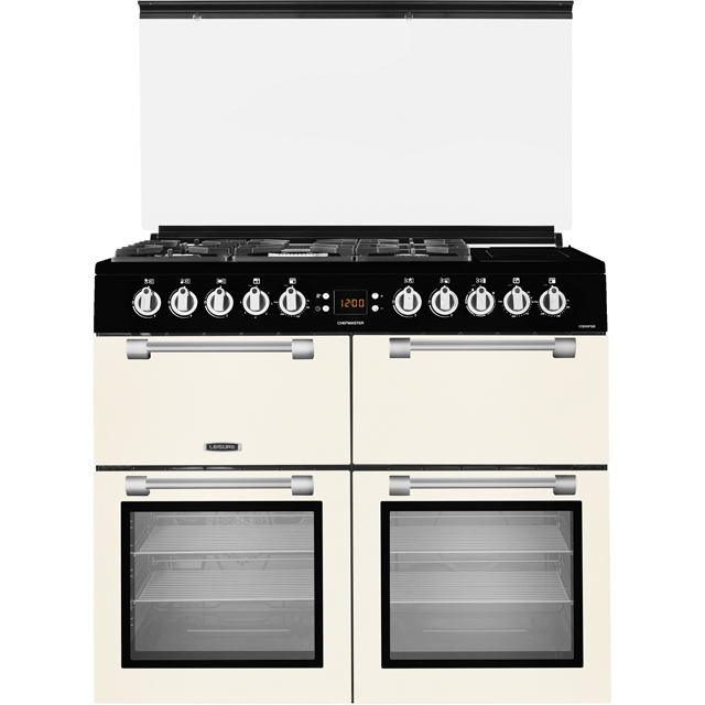 Leisure Chefmaster CC100F521C 100cm Dual Fuel Range Cooker - Cream - A/A Rated
