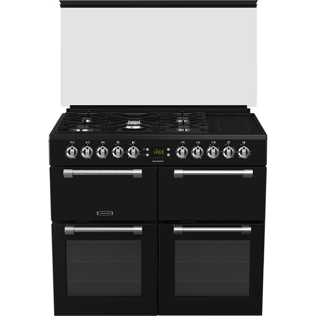 Leisure Chefmaster CC100F521K 100cm Dual Fuel Range Cooker - Black - A/A Rated