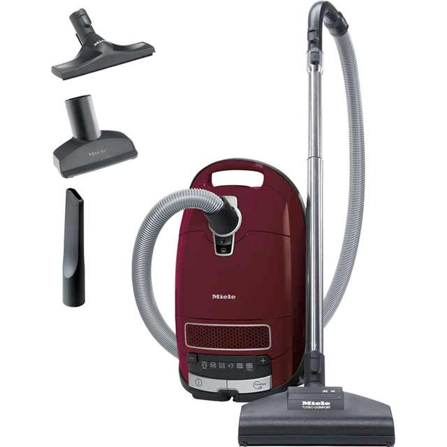 Miele Complete C3 Cat & Dog PowerLine CC3_CD Bagged Cylinder Vacuum Cleaner with Pet Hair Removal