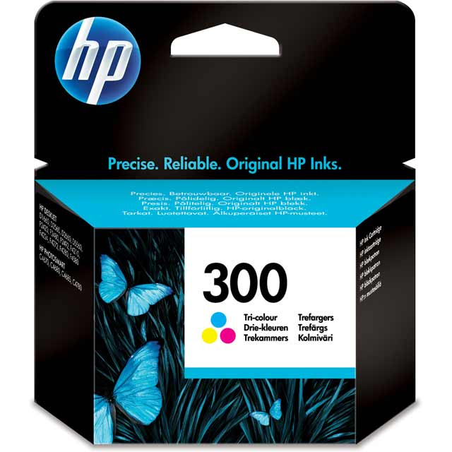 HP 300 Tri-color Original Ink Cartridge