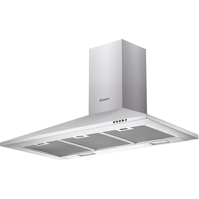 Candy CCE1104/1X Built In Chimney Cooker Hood - Stainless Steel - CCE1104/1X_SS - 1