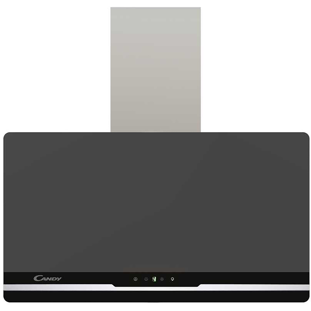 Candy CCL60/1N Built In Chimney Cooker Hood - Blackboard - CCL60/1N_SSB - 1