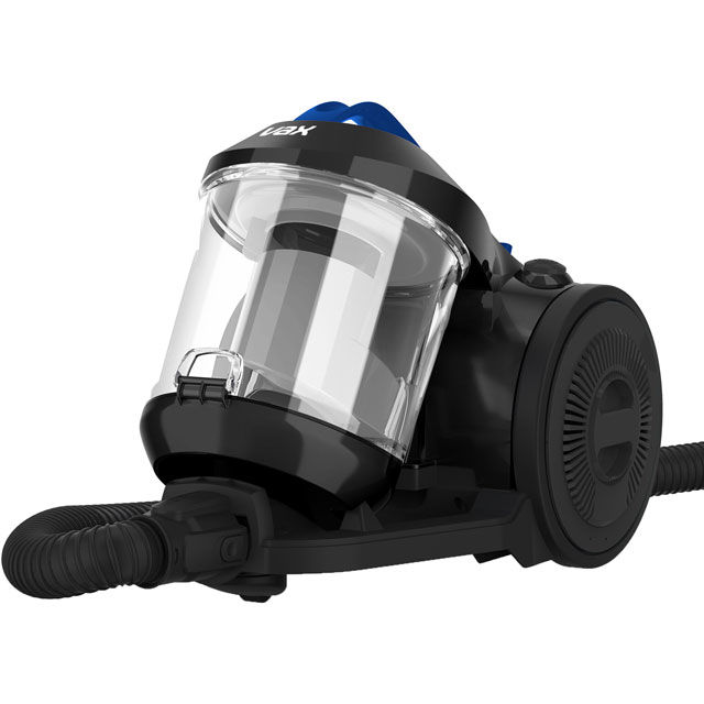 Vax Power Stretch Pet CCMBPDV1P1 Cylinder Vacuum Cleaner in Grey / Blue