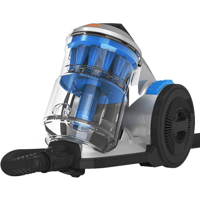 Vax Air Pet CCQSAV1P1 Cylinder Vacuum Cleaner in Silver / Blue