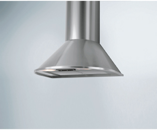 Candy CCR616/1X 60 cm Chimney Cooker Hood - Stainless Steel