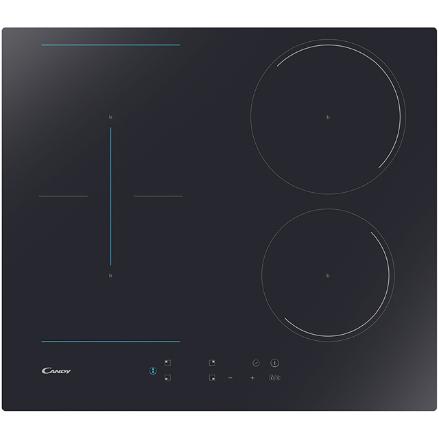 Candy CCTP643 59cm Induction Hob - Black - CCTP643_BK - 1