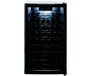 Candy CCV150BL Wine Cooler in Black