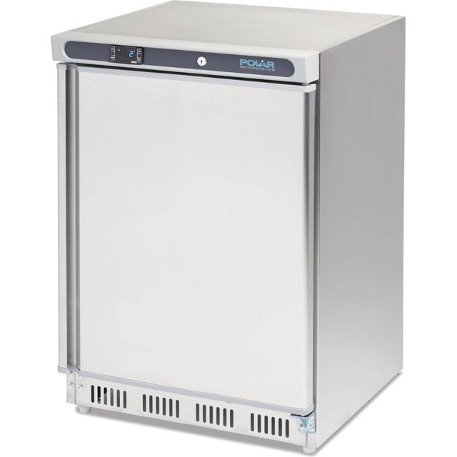 Polar CD080 Commercial Fridge - Stainless Steel - A Rated - CD080_SS - 1