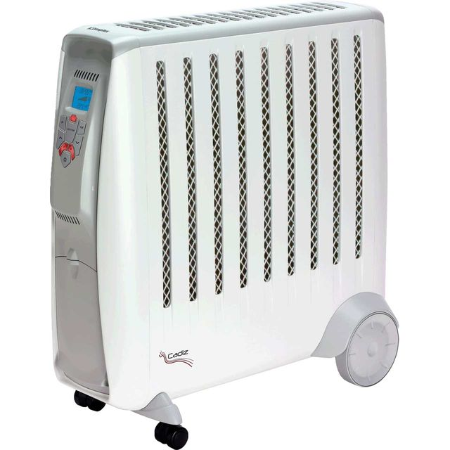 Dimplex Cadiz Eco CD2ECC Oil Free Radiator With Remote Control - White / Grey