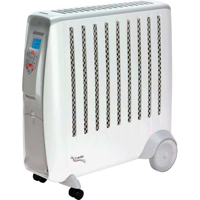 Dimplex Cadiz Eco CD2ECC Oil Free Radiator With Remote Control - White / Grey