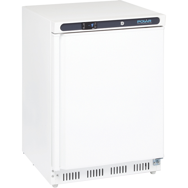 Polar CD611 Under Counter Freezer - White - A Rated - CD611_WH - 1